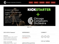 Chicagocomposersorchestra.org