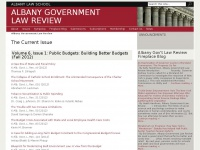 Albanygovernmentlawreview.org