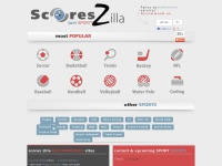 ScoresZilla Livescore :: Live Scores For Over 30 Sports