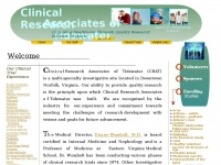 Crat.org - Welcome to Clinical Research Associates of Tidewater