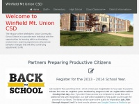 Wmu.k12.ia.us - Winfield Mt. Union CSD | Home
