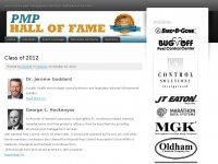 The PMP Hall of Fame | Honoring the pest management industry's trailblazers since 1997.