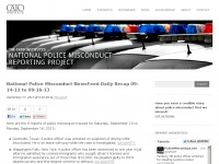 PoliceMisconduct.net | The Cato Institute's National Police Misconduct Reporting Project