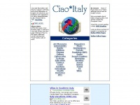The Ciao Italy  Home Page