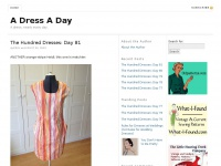 A Dress A Day - A dress, nearly every day.