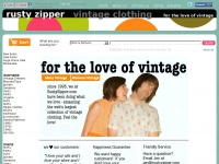 Rustyzipper.com - Rusty Zipper Vintage Clothing - for the love of vintage!