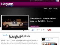 Belgrade at night - The premier Belgrade nightlife service catering exclusively to foreigners