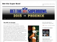 Bet the Super Bowl | Super Bowl Betting, Odds and Prop Bets