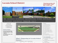 "Laconia School District | ""Ensuring success with every student, every day, in every way"""
