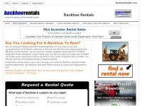 backhoerentals.com