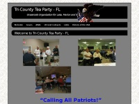 Tri-countyteaparty.org - Welcome - Tri-County Tea Party - FL