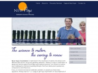 New Hope Foundation - success in the treatment of addiction.New Hope Foundation | Dedicated to Success In Recovery
