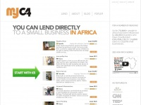 Myc4.com - You can lend directly to a small business in Africa - MYC4
