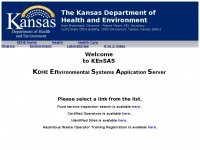 kensas.kdhe.state.ks.us Thumbnail