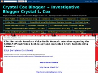 Crystal Cox Blogger ~ Investigative Blogger Crystal L. Cox