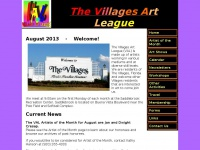 thevillagesartleague.org Thumbnail