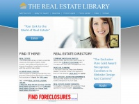 The Real Estate Library - An educational site offering articles, tips and informational reports for realtors, buyers and sellers!