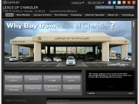 Lexus of Chandler, AZ serves Phoenix, Mesa & Tempe Areas
