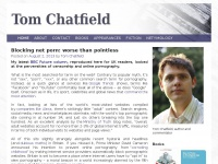 Tom Chatfield | Website of the author and commentator