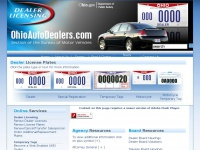 ODPS | BMV | Ohio Auto Dealers