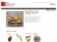 Artjewelryforum.org - Art Jewelry Forum |