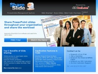 Share-slide.com - Presentation Management Software. PowerPoint Slide Library • SlideBank.com
