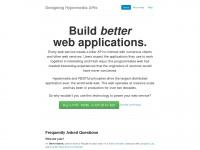 designinghypermediaapis.com
