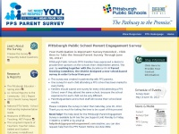 Pittsburgh Public School Parent Engagement Survey | Pittsburgh Parent Engagement