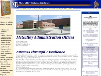 Welcome to the McGuffey School District website