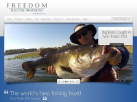 Freedomelectricmarine.com - Freedom Electric Marine - The Worlds Best Fishing Boat