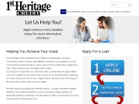 1stheritagecredit.com - First Heritage Credit - Helping people with loans in Mississippi (MS), Louisiana (LA) and Tennessee (TN)