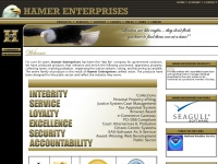 Hamer Enterprises - Welcome To The Hamer Enterprises Website