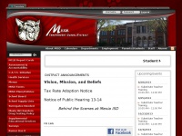 Mexia.k12.tx.us - Mexia ISD - Index