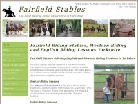 fairfieldstables.co.uk