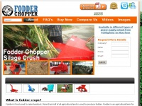 Fodderchopper.com - Fodder Chopper, Forage Chopper, Grass and Hay Chopper Machine