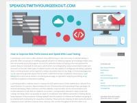 speakoutwithyourgeekout.com