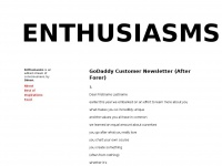 enthusiasms.org