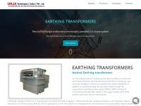 earthingtransformers.com
