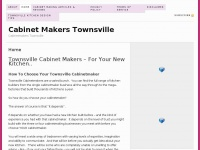 Cabinet Makers Townsville - Cabinetmakers Townsville
