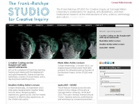 Studioforcreativeinquiry.org