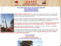 Dobbswindmillservice.com - Dempster and Aermotor Windmill and water well pump repair and service