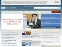 Banking Accounting and Finance Degrees - ifs University College