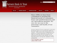 Farmersbankbly.com - Farmers Bank & Trust - Blytheville, Arkansas - Home