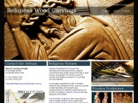religiouswoodcarvings.com.au Thumbnail