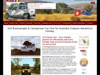4x4 Bushcamper and Campervan Car Hire, rms travel cars, 4WD Australia Outback Holiday