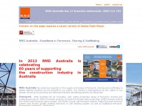 RMD Australia - Formwork, scaffold and shoring systems for the Australian construction industry  - 1800 111 763