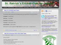 St. Patrick's Cricket Club Inc. Albury | Facta non Verba ~ Deeds not Words