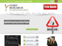 ivoryresearch.com