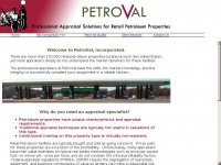 Petroval.net - PetroVal, Inc. - Professional Appraisal Solutions for Retail Petroleum Properties