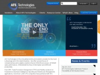 AFS Technologies | Software Solutions for Supply Chain Intelligence